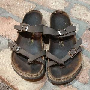 Women's birkenstock sandals, size 40